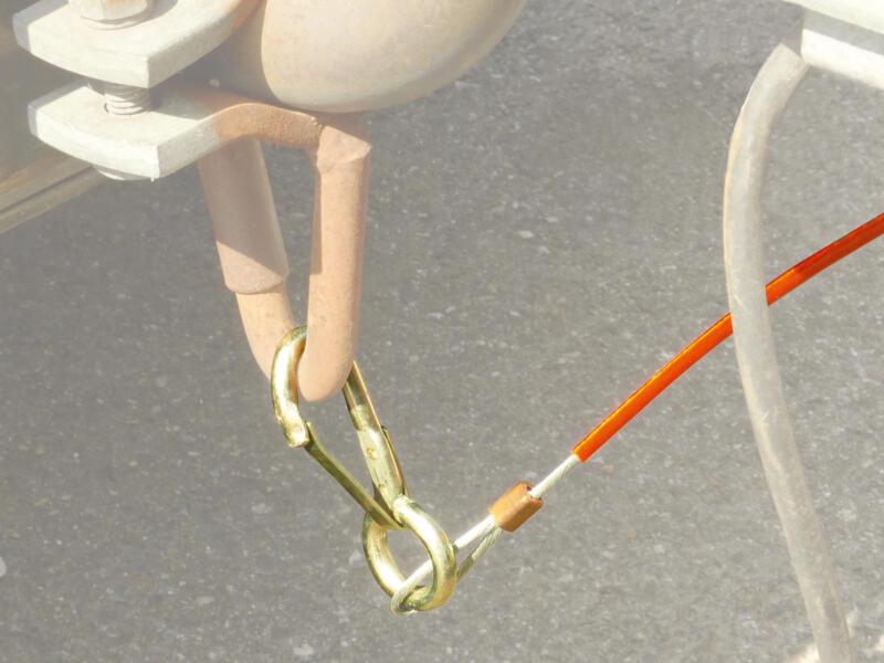 Carpoint câble de rupture pour remorque 110cm