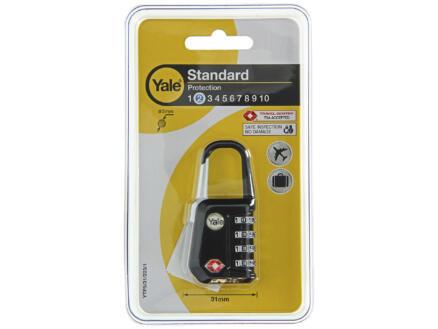 Yale cadenas à code TSA 31mm noir