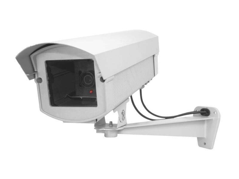 Chacon caméra factice avec LED aluminium