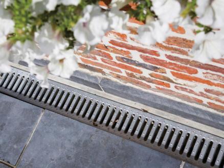 ACO caniveau avec grille 100x12,5 cm