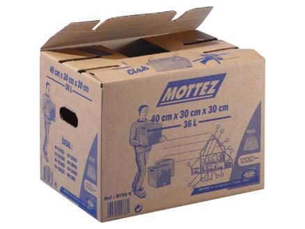 Mottez carton de déménagement 40x30x30 cm