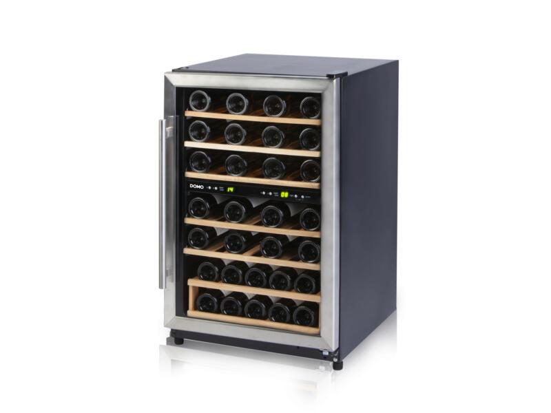 Domo cave à vin réfrigérée inox 45 bouteilles