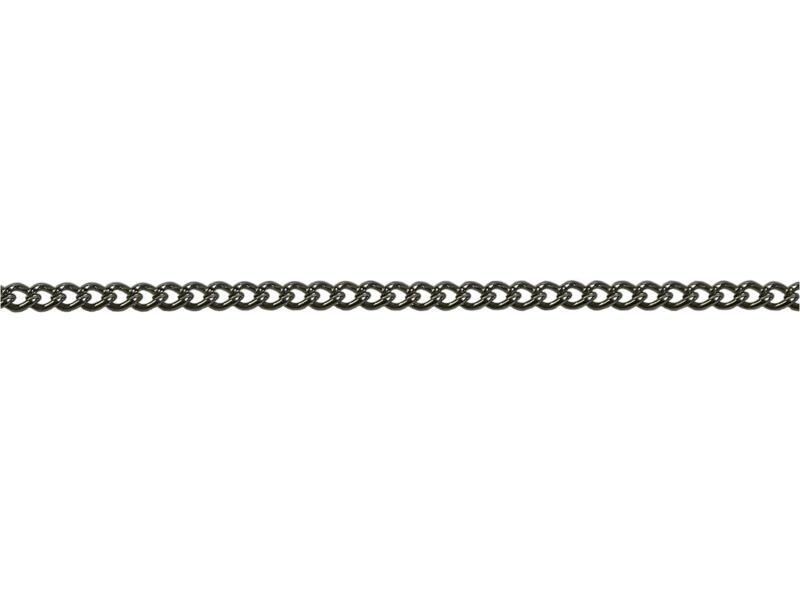 Sam chaîne gourmette torsadé 2m 0,7mm nickelé
