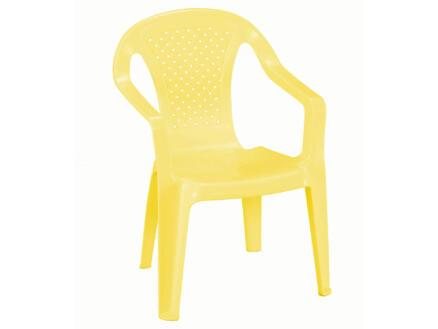 Progarden chaise de jardin enfants jaune