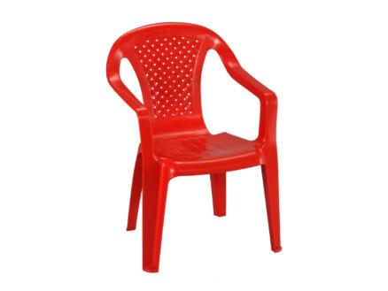 Progarden chaise de jardin enfants rouge