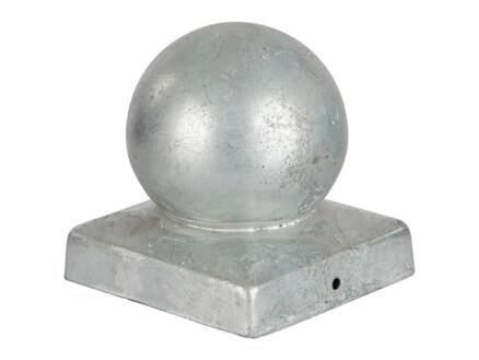 Practo Garden chapeau poteau boule 70x70 mm galvanisé