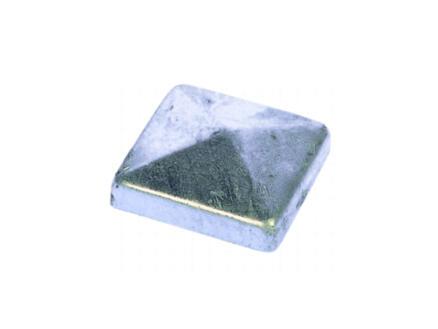 chapeau poteau pyramide décorative 70x70 mm
