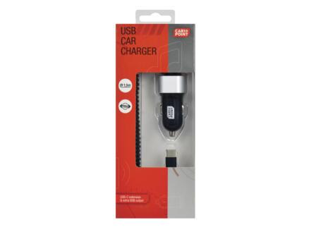 Carpoint chargeur USB pour voiture 12-24 V 3A