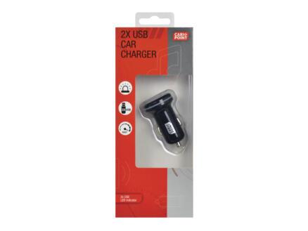 Carpoint chargeur USB pour voiture 12-24 V dual