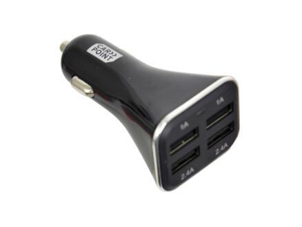 Carpoint chargeur USB pour voiture USB 12-24 V quad