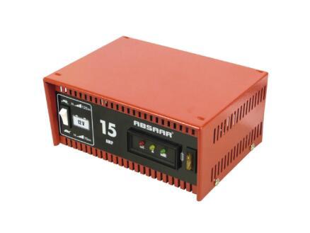 Absaar chargeur de batterie 12V 15A
