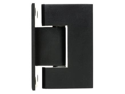 Solid charnière 10x5,5 cm inox noir