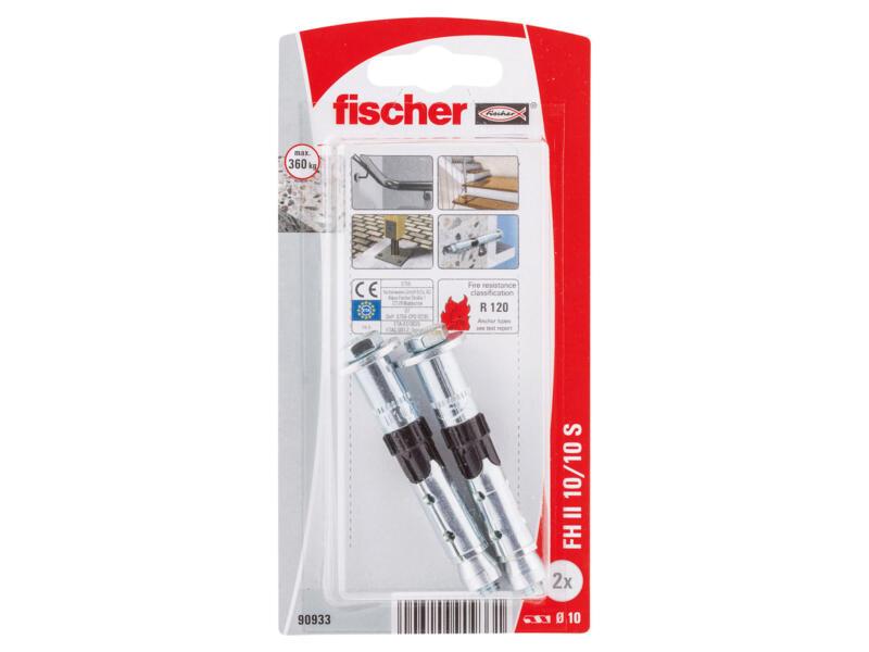 Fischer cheville de sécurité 10x70 mm 2 pièces