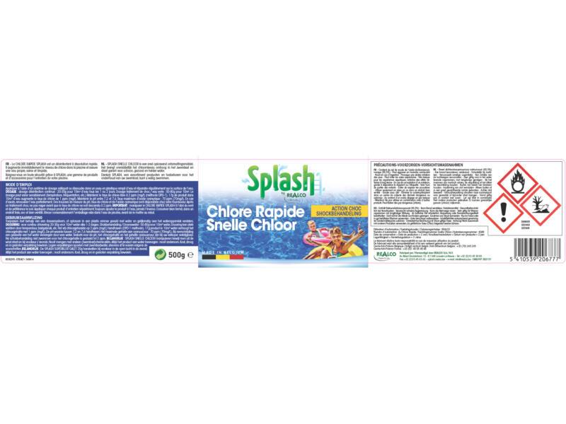 Splash chlore rapide 500g