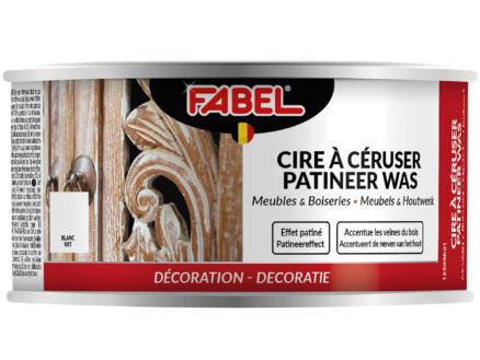 Fabel cire à céruser meubles & boiseries 0,25l blanc