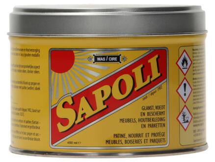 Sapoli cire en pâte 450ml chêne clair