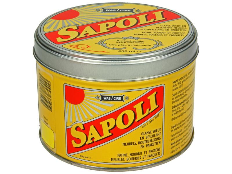 Sapoli cire en pâte 450ml naturel