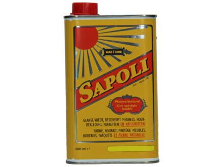 Sapoli cire spéciale lavable 500ml jaune