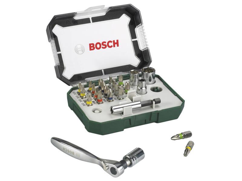 Bosch clé à cliquet coffret de 26 pièces