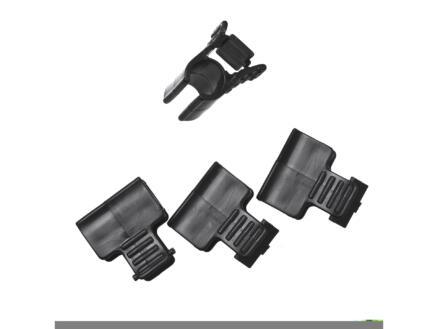 Nature clips voor tunnelfolie 16mm 4 stuks