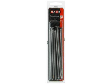 Mack clous à tête plate 5,5x140 mm 180g