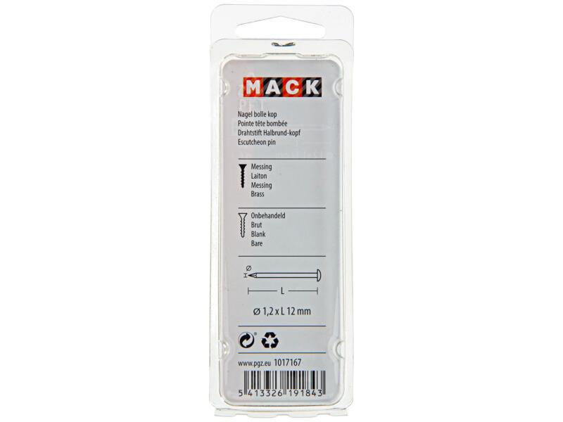 Mack clous à tête ronde 1,2x12 mm 20g