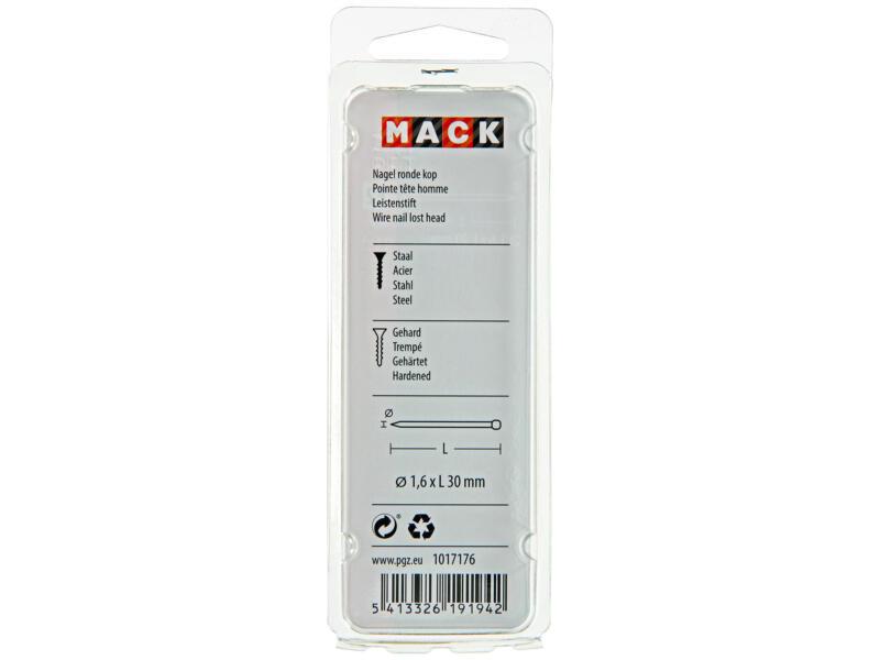 Mack clous à tête ronde 1,6x30 mm 45g