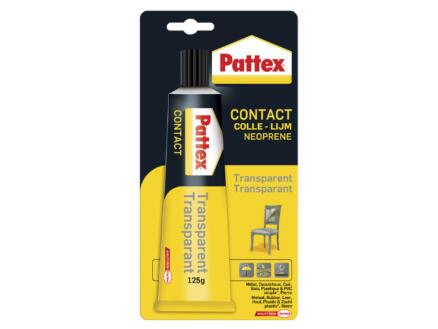 Pattex colle de contact 125g transparent