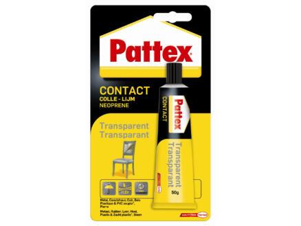 Pattex colle de contact 50g transparent