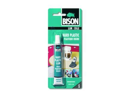 Bison colle pour plastiques rigides 25ml transparent