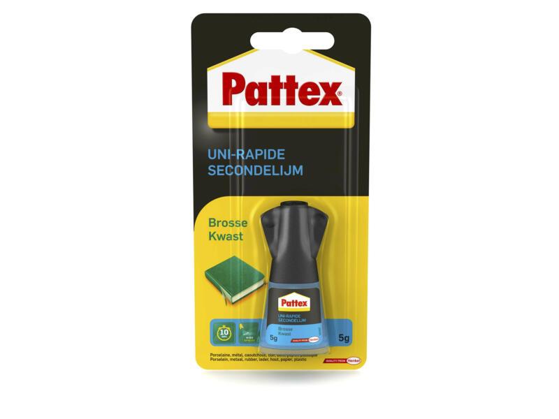 Pattex colle seconde 5g + brosse
