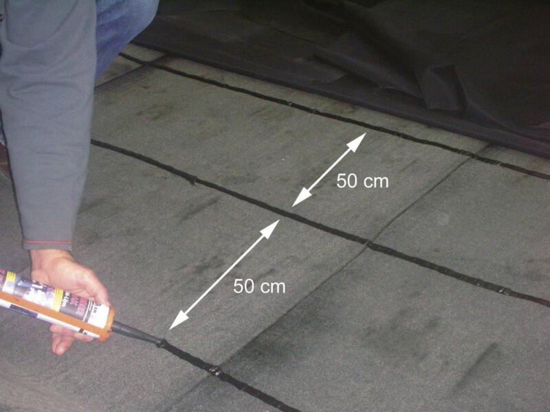 Aquaplan colle toiture en caoutchouc 12x290 ml noir