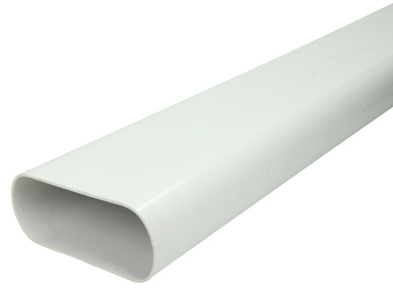 Renson conduit rigide oblong 135x55 mm blanc