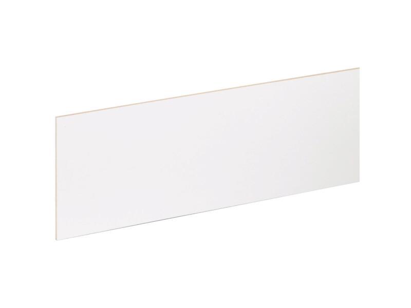 CanDo contremarche 130x20 cm blanc 3 pièces