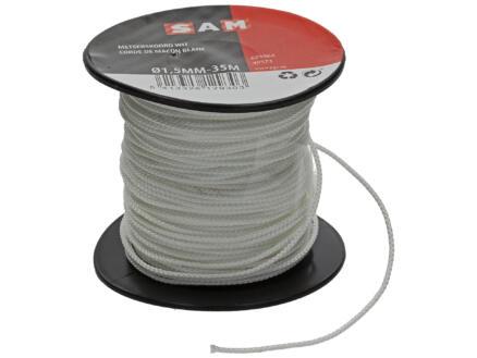 Sam corde de maçon 35m 1,5mm