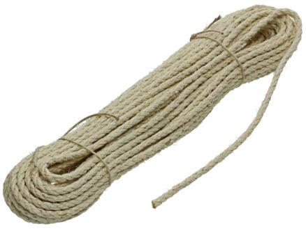 Mack corde sisal torsadée 20m 6mm