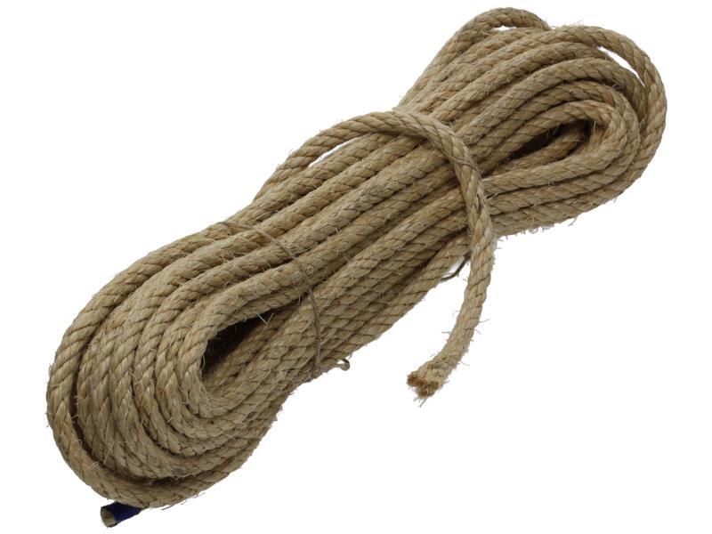Mack corde torsadée 20m 10mm sisal