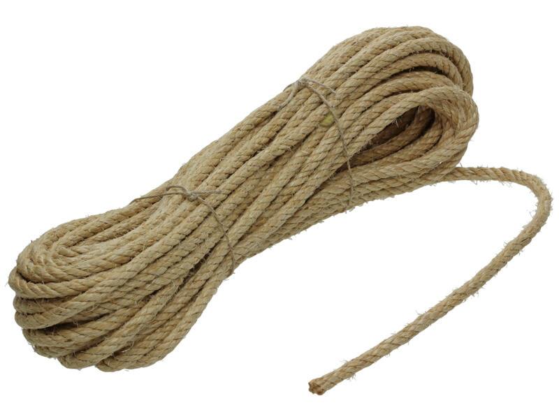 Mack corde torsadée 20m 8mm sisal