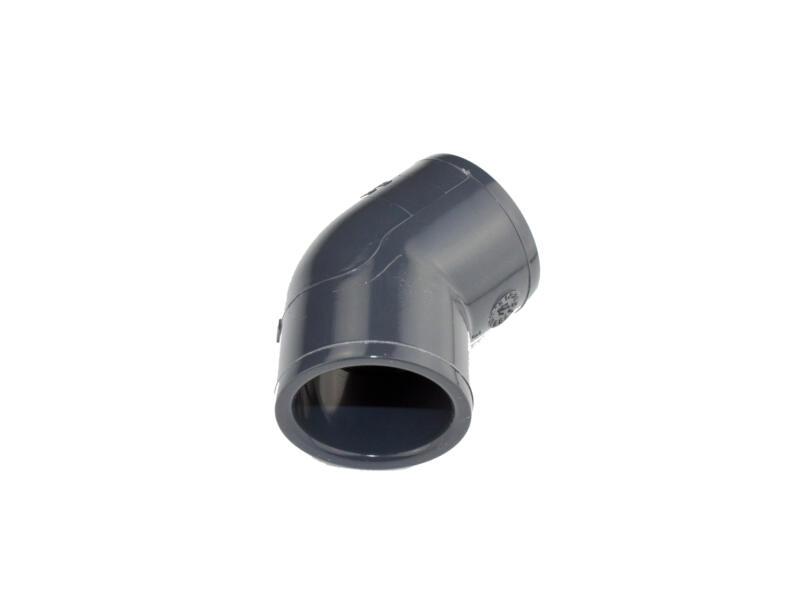 Astore coude 45° FF 32mm PVC