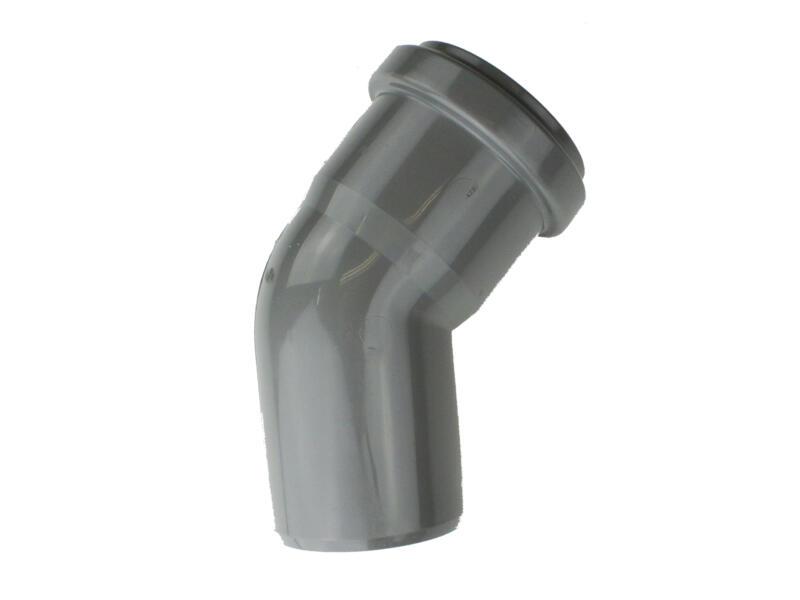 Scala coude 45° MF 40mm polypropylène gris