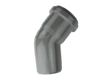 Scala coude 45° MF 50mm polypropylène gris