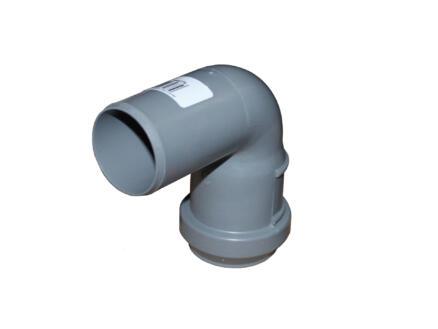 Scala coude 87° MF 50mm polypropylène gris