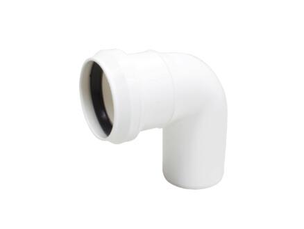 Scala coude 87° MF 75mm polypropylène blanc