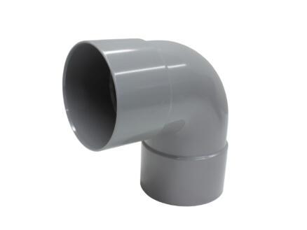 Scala coude 87° SG FF 75mm PVC gris