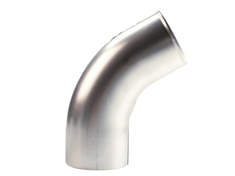Scala coude finition système pluvial 60° 87mm gris