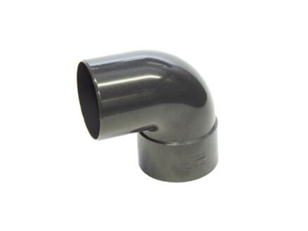 Scala coude pluvial pour gouttière 87° 80mm MF PVC cgm