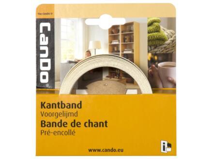 CanDo couvre-chants 2,8m x 24 mm blanc brillant