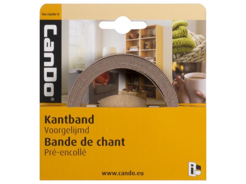 CanDo couvre-chants 2,8m x 24mm chêne vert vernis