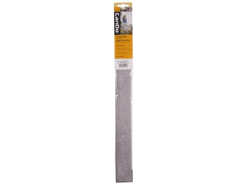 CanDo couvre-chants appui de fenêtre 43x4 cm gris béton