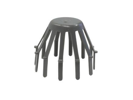 Scala crapaudine 80mm gris foncé